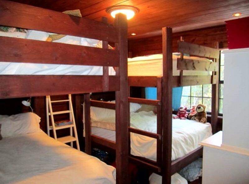 Two Full BunkBeds In Upstairs Bedroom
