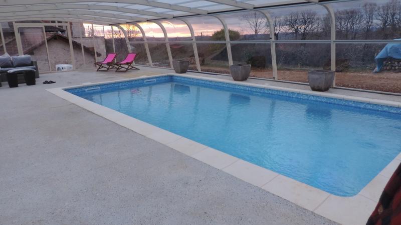 Gîte  Mas  de Cascabel avec piscine  chauffée, holiday rental in Bouillac