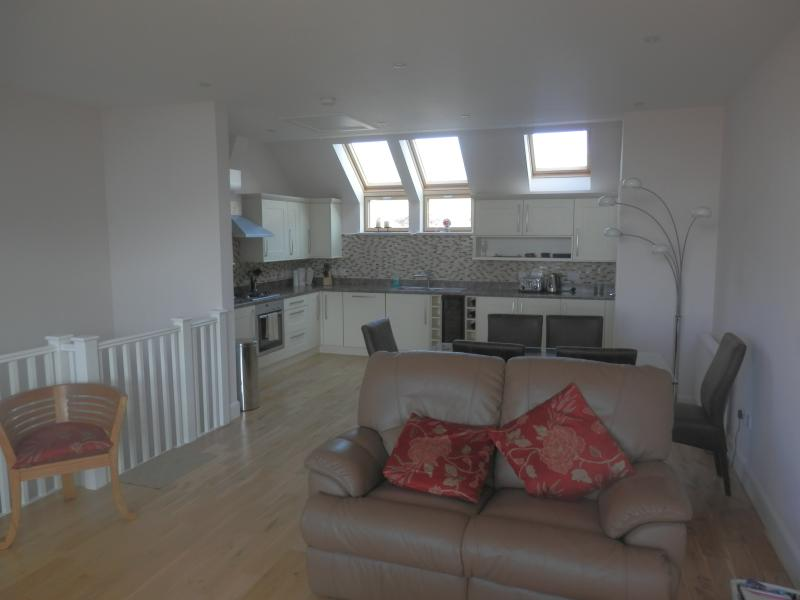 Very spacious open plan kitchen/ dining/ living room