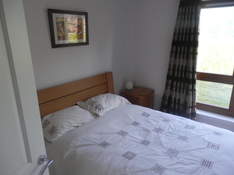 Spacious bedroom with en suite shower room