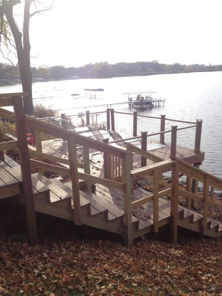 New Lake Deck