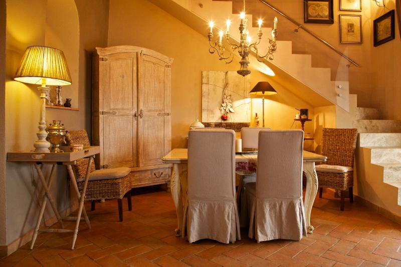 sala da pranzo dove viene servita la prima colazione
