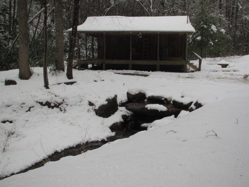 A beautiful winter day on Buffalo Creek