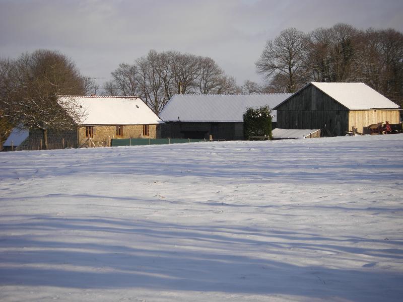 La Cloue B&B in winter