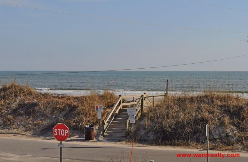Public Beach Access is Across the Street