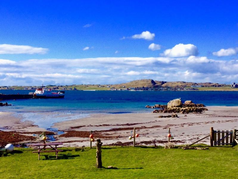 Mull, Self catering, beach, Fionnphort, Iona view, Isle of Mull, Cottage, location de vacances à Bunessan