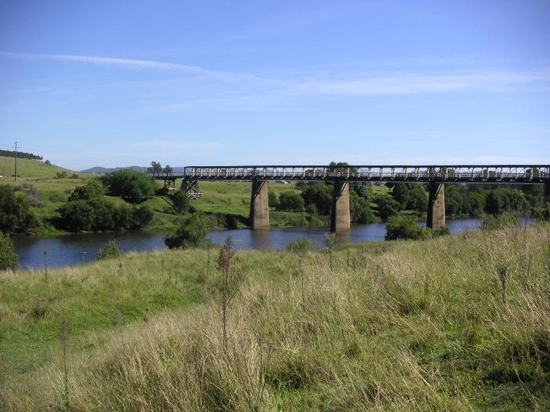 Tabulam Bridge Circa 1902 view from Chauvel Park B&B