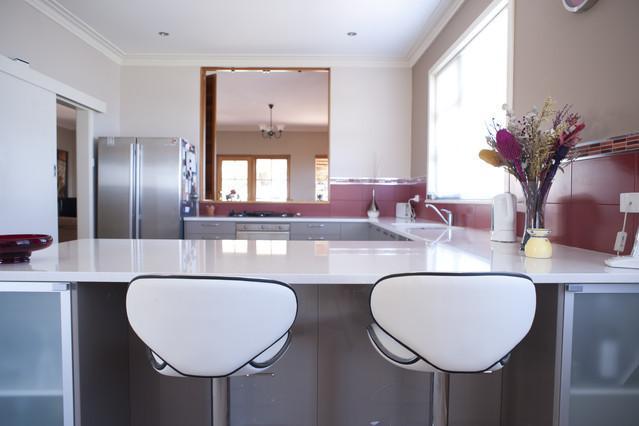 view across kitchen