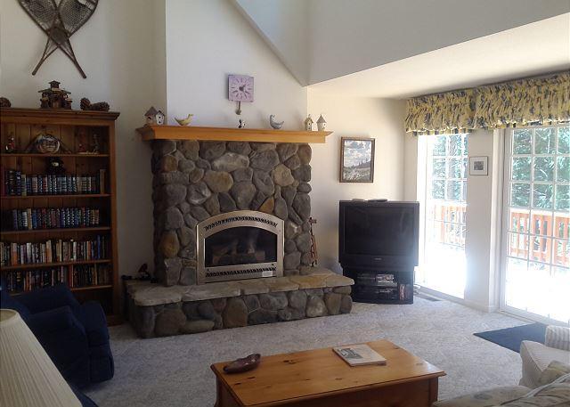 Woodstove - Living Room
