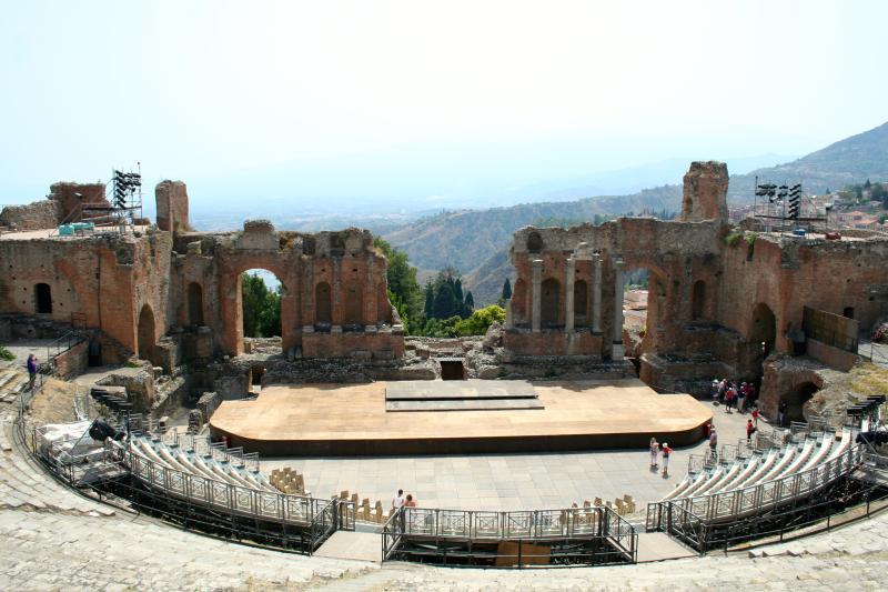 Grieks theater Taormina Art Events