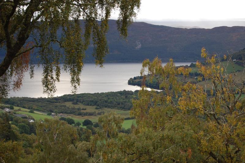 View of Loch Ness from Premier Lodge No 3