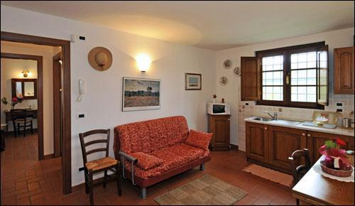 Tenuta Il Vallone - Appartamento Geranio, aluguéis de temporada em Monsummano Terme