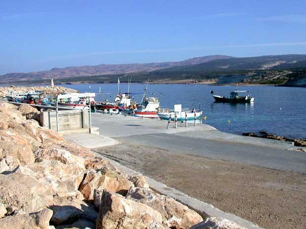 Agios Georgias (a local beach and bay)