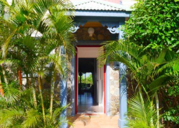 Côté Chic : the main entrance