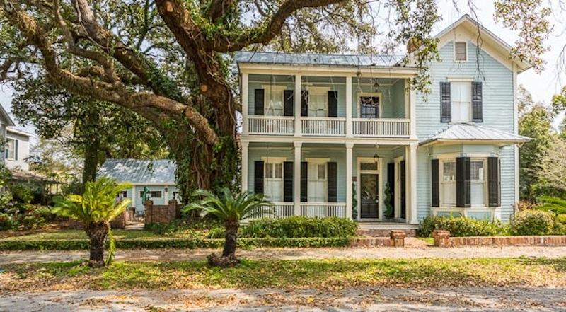 Grand Southern Victorian on tree-lined street in historic Old Town Brunswick