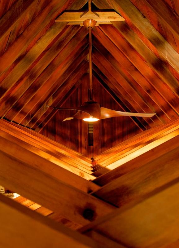 Ceiling and roof beams