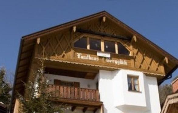Our 'Mittenwald Lodge' rooftop home at 'Landhaus Bergglueck'