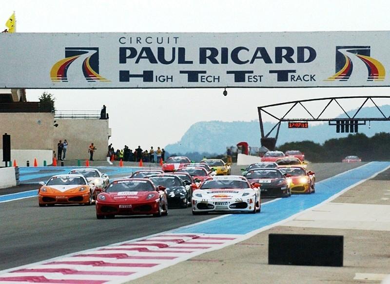 Paul Ricard circuit in Le Castellet 10 minutes