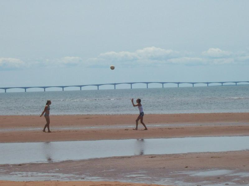Low Tide great for beach games