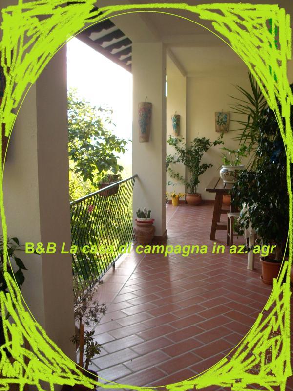 B&B Lacasadicampagna portico