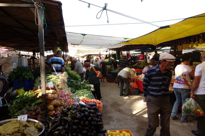 Famous Turgutreis Saturday Market