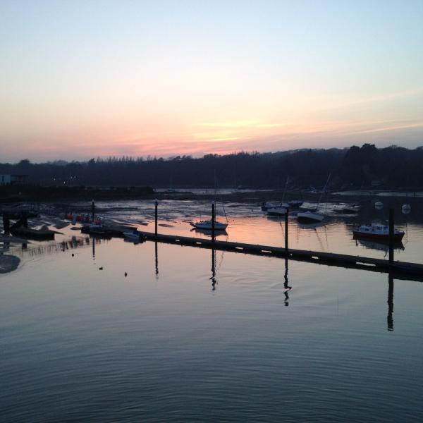 Sunset at Ryde