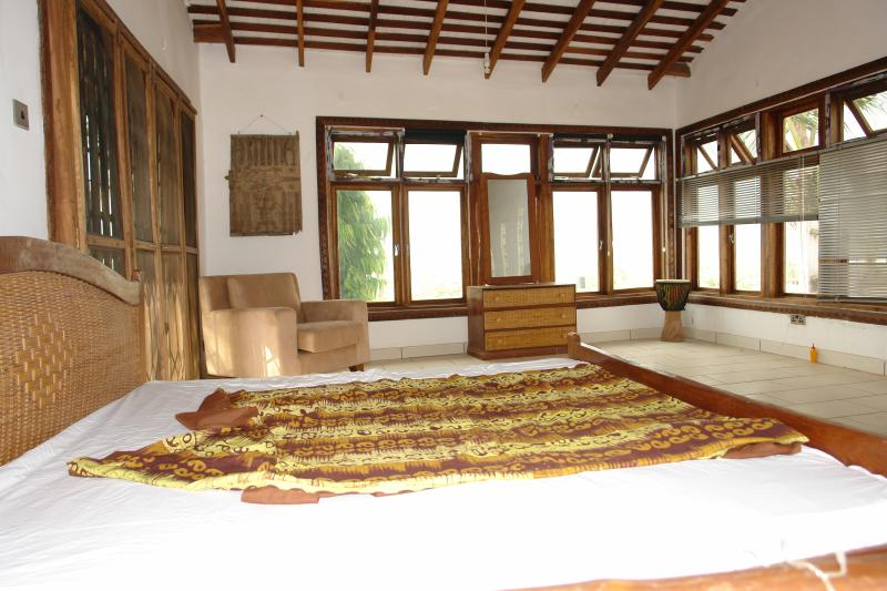 Main bedroom - no onsuite but great airy views.
