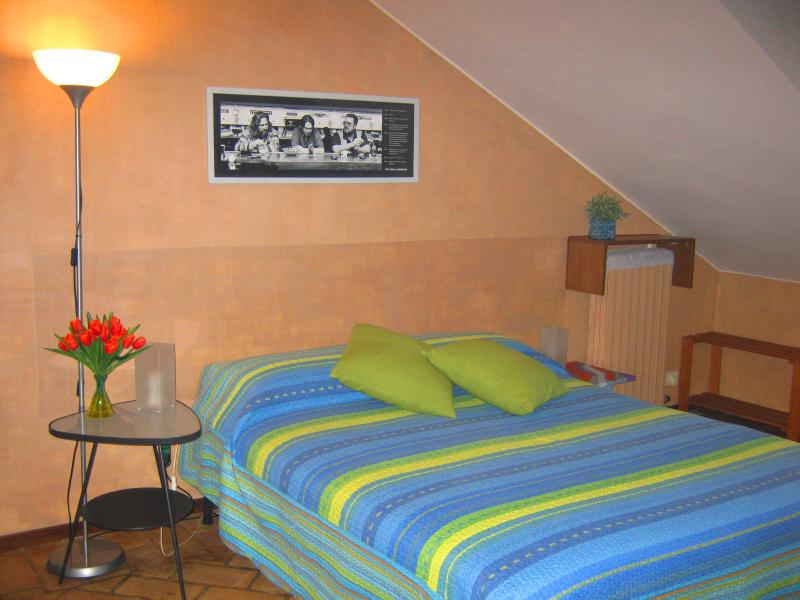 STANZA CON BAGNO PRIVATO INTERNO - ATTIC ROOM - PRIVATE BTH INSIDE - CITY CENTRE, holiday rental in Nichelino