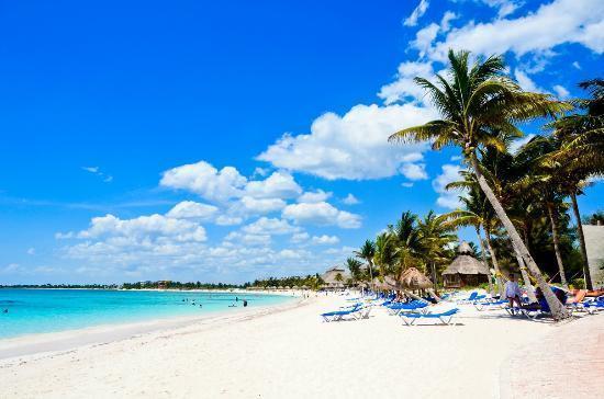 Soft sand beaches