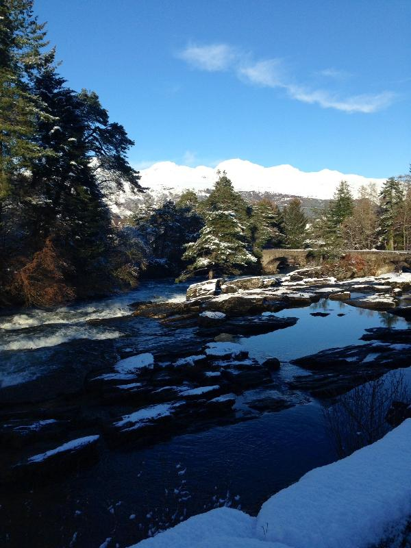 The Falls of Dochart, Killin