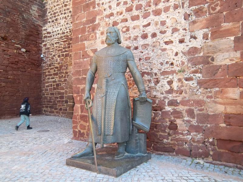 Château de Silves, l'un des nombreux lieux d'intérêt dans la région