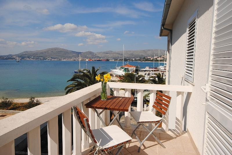 Master bedroom balcony with sea view