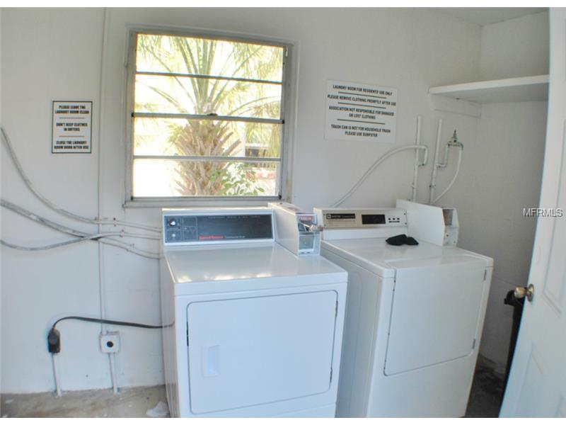 Onsite Laundry Facility