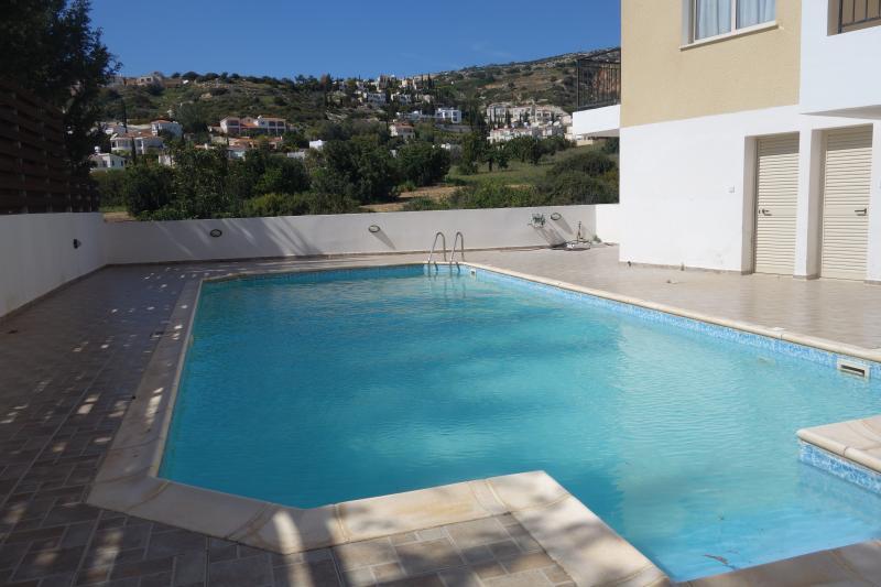 View of seasonal swimming pool