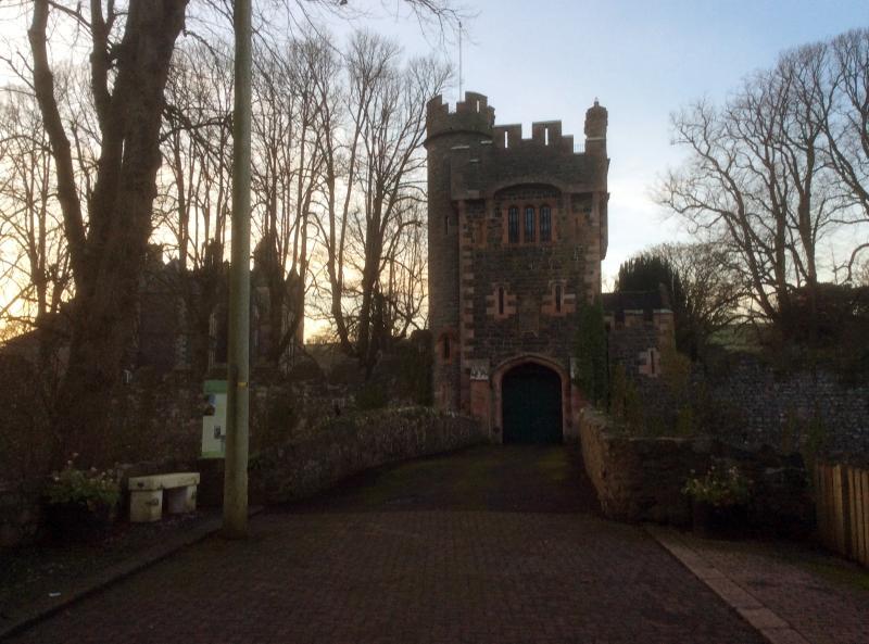 Cancello di Barbacane, Glenarm Castle