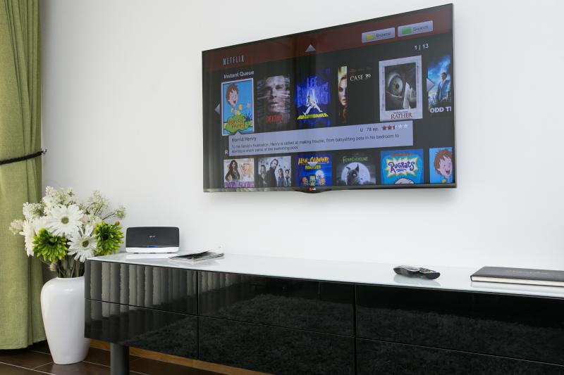 Smart TV with Netflix Subscription