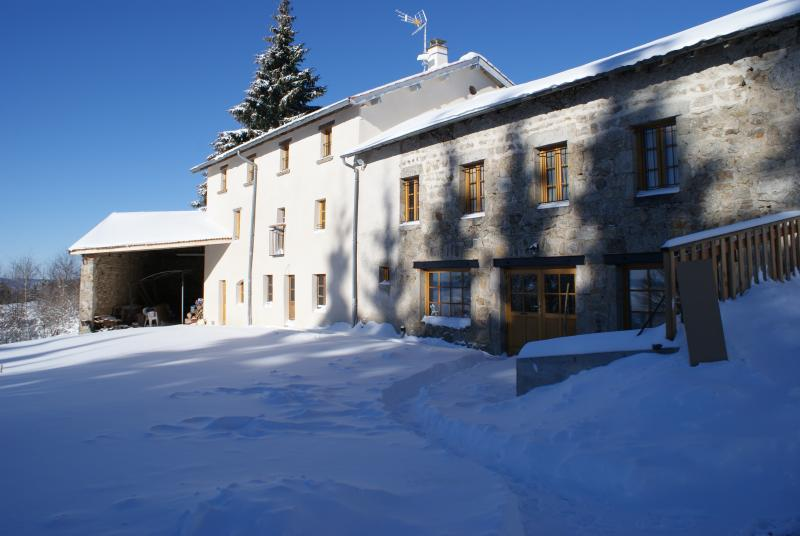 South facade in winter