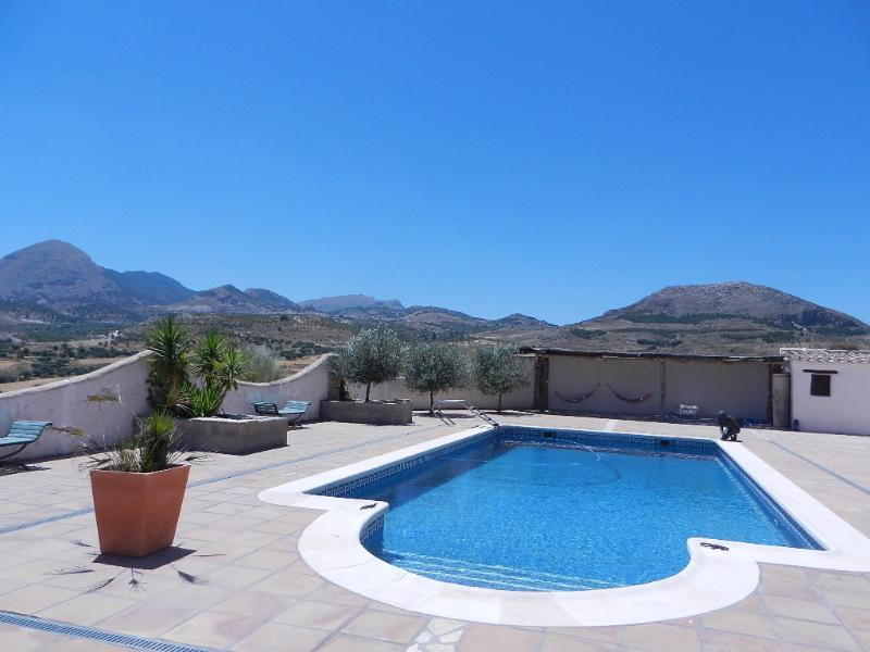 12m x 6m Roman Step Entry Pool with stunning uninterrupted views of surrounding area