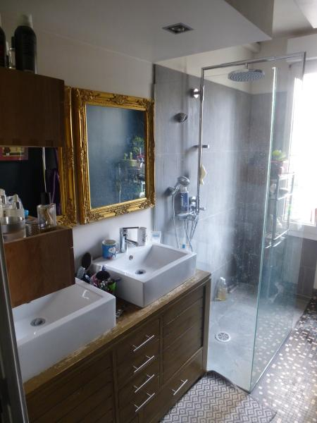 The 1st floor shower room.