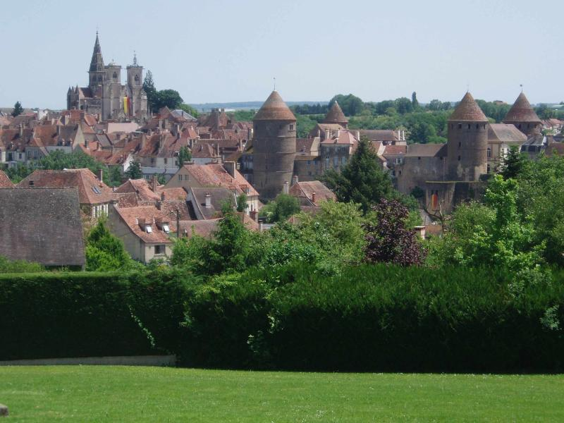 Charming house in amazing medieval Burgundy city, vacation rental in Montbard
