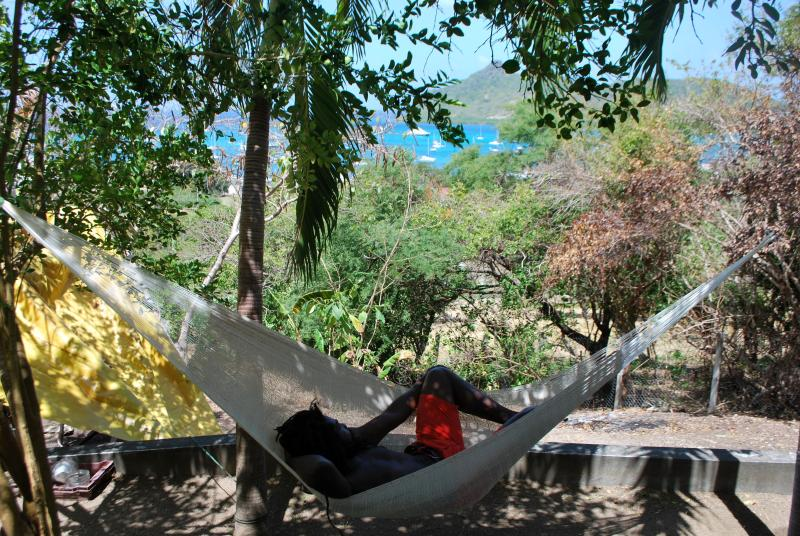 Welcome to relax in the hammock.