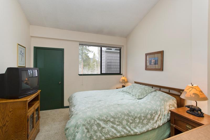 Bedroom With A Queen Bed