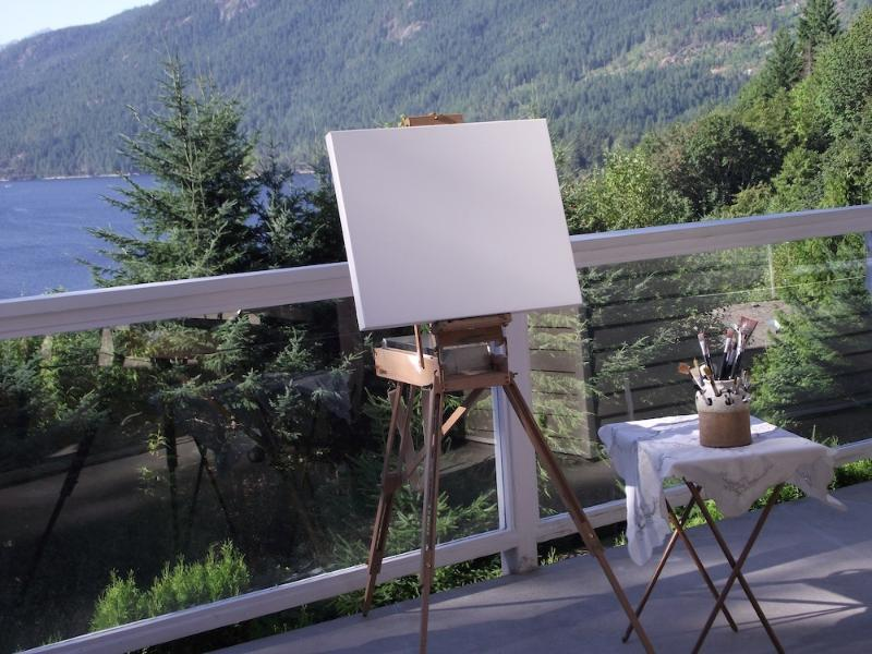Inspiration for artists, musicians and writers in natural surroundings and magnificent views.