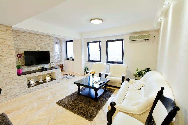 Great apartment in Skopje centar, alquiler vacacional en Dolna Matka