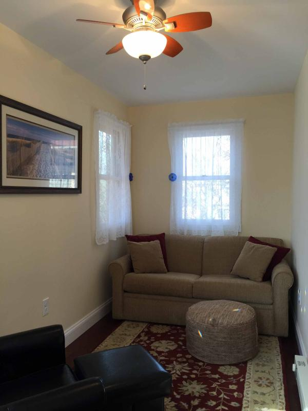 New addition sitting room