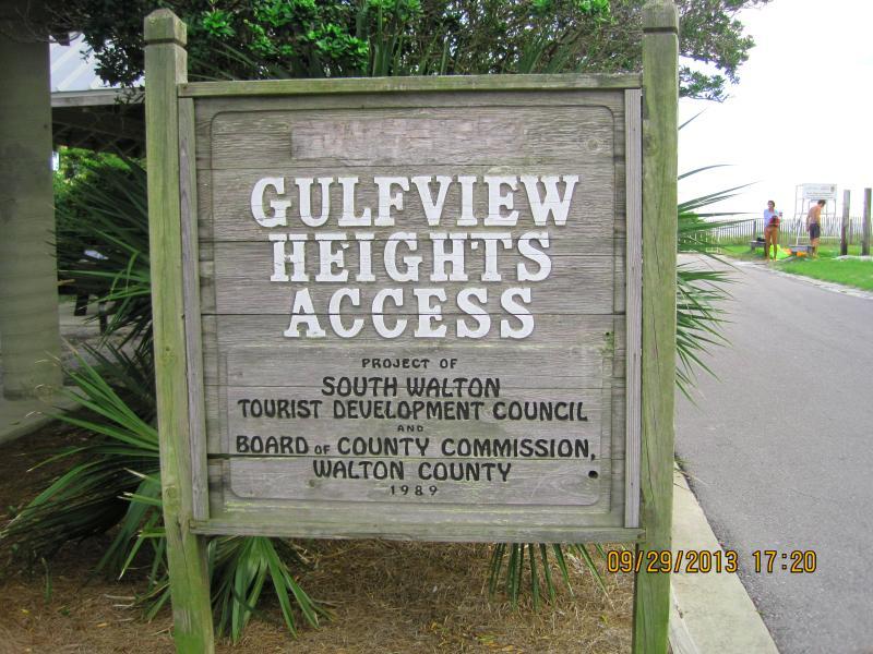 Nearest beach access