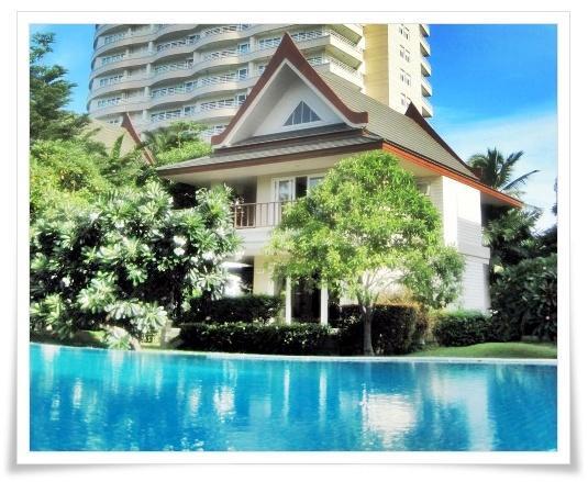 Villa de estilo tailandés