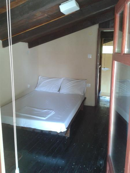 Barn: Bedroom no. 4 - one double futon bed (300 euros per night extra for barn conversion)