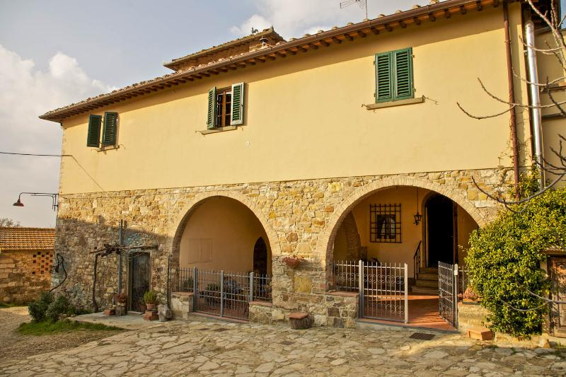 Typical house in Chianti, vacation rental in San Casciano in Val di Pesa