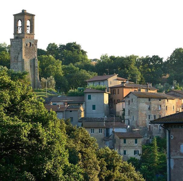Ortensie Viola - Panorama  ad Est - Center Italy Perugia -, Ferienwohnung in Perugia
